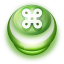 64x64px size png icon of Button Green Commandkey