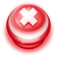 64x64px size png icon of Button Red Cancel