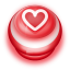 64x64px size png icon of Button Red Love Heart