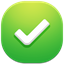 64x64px size png icon of check