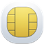 64x64px size png icon of sim card