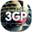 64x64px size png icon of 3gp