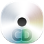 64x64px size png icon of cd disc