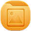 64x64px size png icon of folder picture