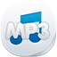 64x64px size png icon of mp 3
