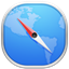 64x64px size png icon of safari