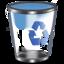 64x64px size png icon of Qx9 Vista Bin2 Empty