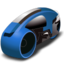 64x64px size png icon of lightcycle   blue