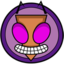 64x64px size png icon of Invader Zim
