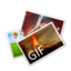 64x64px size png icon of GIF File