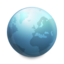 64x64px size png icon of Globe Connected