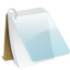 64x64px size png icon of Notepad