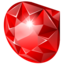 64x64px size png icon of ruby