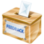 64x64px size png icon of feedback