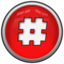 64x64px size png icon of Hash