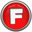 64x64px size png icon of Letter F