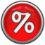 64x64px size png icon of Percent