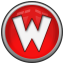 64x64px size png icon of letter w