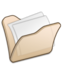 64x64px size png icon of Folder beige mydocuments