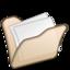 64x64px size png icon of Folder beige mydocuments
