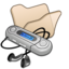 64x64px size png icon of Folder beige mymusic