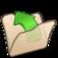 64x64px size png icon of Folder beige parent