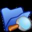 64x64px size png icon of Folder blue explorer