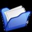 64x64px size png icon of Folder blue mydocuments