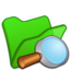 64x64px size png icon of Folder green explorer