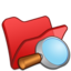 64x64px size png icon of Folder red explorer