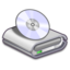 64x64px size png icon of Hardware CD ROM