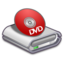 64x64px size png icon of Hardware DVD ROM