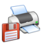 64x64px size png icon of Hardware Printer Floppy