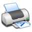 64x64px size png icon of Hardware Printer Landscape