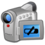 64x64px size png icon of Hardware Video Camera low battery