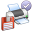 64x64px size png icon of Misc Printer Floppy Default