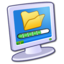 64x64px size png icon of System Files Download