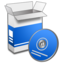 64x64px size png icon of System Install 1