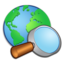 64x64px size png icon of System Internet Search