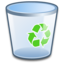 64x64px size png icon of System Recycle Bin Empty