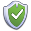 64x64px size png icon of System Security Firewall ON