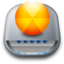 64x64px size png icon of Drive Burn