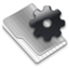 64x64px size png icon of Grey Config