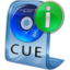 64x64px size png icon of CUE File