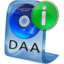 64x64px size png icon of DAA File