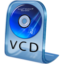 64x64px size png icon of VCD File