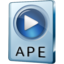 64x64px size png icon of APE File