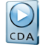 64x64px size png icon of CDA File