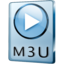 64x64px size png icon of M3U File