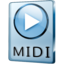 64x64px size png icon of MIDI File